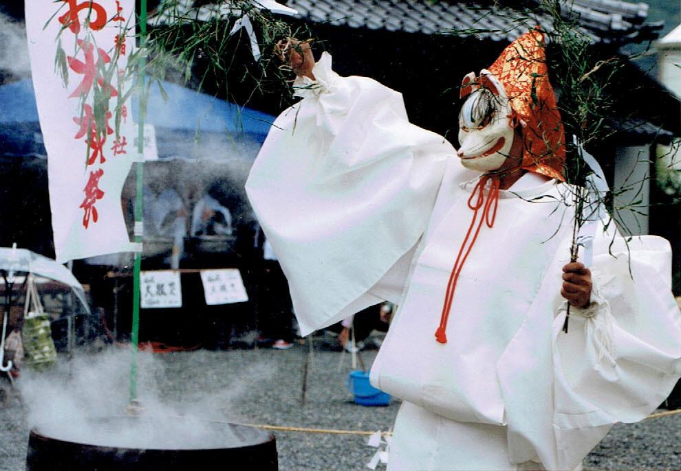 働く女性の守り神折上稲荷神社 火焚祭