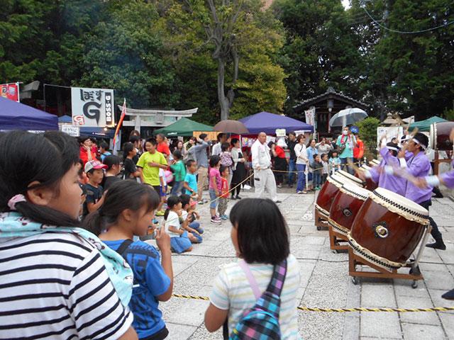 働く女性の守り神 折上稲荷神社 稲荷祭宵宮祭