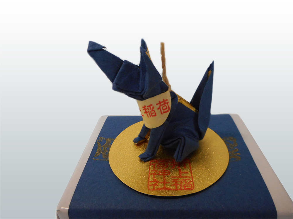 初詣 黒青のおきつね様のイメージ