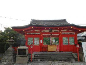 働く女性の守り神折上稲荷神社 弊殿修復工事画像1